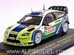 Ford Focus WRC #3 BP M.Gronholm-T.Rautiainen Winner Rally Monte Carlo 2006 by IXO MODELS