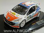 Peugeot 207 S2000 #1 Rally Casinos de Algarve 2007 by IXO MODELS