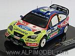 Ford Focus RS WRC #3 Winner Jordan Rally 2008 Hirvonen- Lehtinen by IXO MODELS