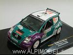 Citroen C2 S1600 #46 Jordan Rally  2008 Gallagher - Kiely by IXO MODELS