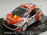 Peugeot 207 S2000 #4 Rally Monte Carlo 2009 Loix - Smets by IXO MODELS