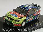 Ford Focus WRC #3 Winner Rally Sweden 2010 Hirvonen - Lehtinen by IXO MODELS