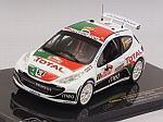 Peugeot 207 S2000 #9 Rally Monte Carlo 2010 Magalhaes - Magalhaes by IXO MODELS