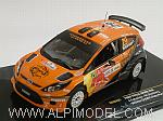 Ford Fiesta S2000 #29 Winner Portugal Rally 2010 Ketomaa - Stemberg by IXO MODELS