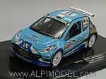 Peugeot 207 S2000 N.11 Ypres 2010 Snijers - Colelaere by IXO MODELS