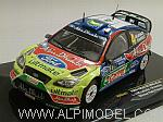 Ford Focus RS WRC09 # Winner Rally Finland 2010 Latvala - Anttila by IXO MODELS