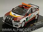 Mitsubishi Lancer EVO X #00 Rally Japan 2008 Safety Car Miyoshi - Hayashi by IXO MODELS