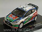 Ford Fiesta RS WRC #3 Winner Rally Sweden Hirvonen - Lehtinen by IXO MODELS