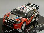 Citroen DS3 WRC #11 Rally Sweden Solberg - Patterson by IXO MODELS