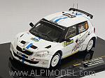 Skoda Fabia S2000 #60 Rally Sweden 2012 Ogier - Ingrassia by IXO MODELS