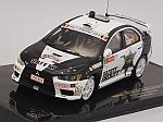 Mitsubishi Lancer EVO X #0 Rally Ypres 2011 Safety Sheriff - D'Hulster - Kinget by IXO MODELS