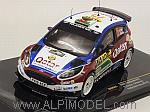 Ford Fiesta R5 #75 Rally Germany 2013 Evans - Barritt by IXO MODELS