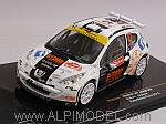 Peugeot 207 S2000 #42 Rally Monte Carlo 2013 Burri - Duval by IXO MODELS