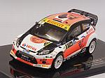 Ford Fiesta RS WRC #8 Winner Rally Monza 2014 Kubica - Benedetti by IXO MODELS