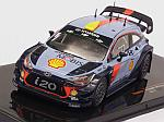 Hyundai i20 Coupe WRC Rally Wales 2017 (includes decals options for #5 and #6) by IXO