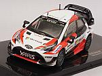Toyota Yaris WRC Rally Sweden 2017 (includes decals options for #10 and #11) by IXO