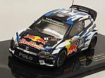 Volkswagen Polo WRC #1 Rally Australia 2016 World Champion Ogier - Ingrassia by IXO MODELS
