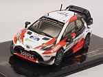 Toyota Yaris WRC #12 Winner Rally Finland 2017 Lappi - Ferm by IXO MODELS