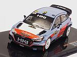 Hyundai NG I20 WRC #11 Rally Monza 2017 Mikkelsen - Neuville by IXO MODELS