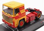 Scania LBT 141 1976 (Yellow-red) by IXO MODELS