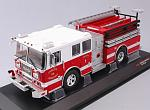 Seagrave Marauder II Charlotte Fire Department Truck by IXO