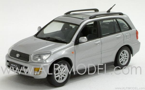 Rav >> j-collection Toyota RAV4 5-doors (Silver) (1/43 scale model)