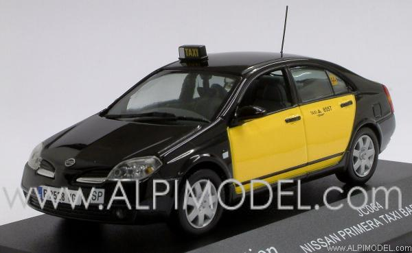 j-collection Nissan Primera Taxi Barcelona (1/43 scale model)