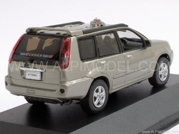 j collection nissan x trail g7 taxi parisien 2003 1 43 scale model. Black Bedroom Furniture Sets. Home Design Ideas