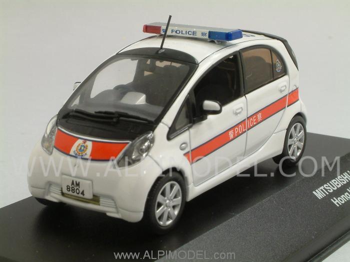 jcollection mitsubishi imiev 2010 hong kong police car