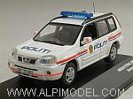 Nissan X-Trail 2006 Norway Police by J-COLLECTION