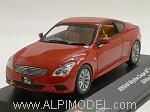 Nissan Skyline Coupe 50th Anniversary 2007 (Burning Red) by J-COLLECTION.