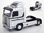Scania 143 Streamline Truck 1992 (Silver) by KK SCALE MODELS