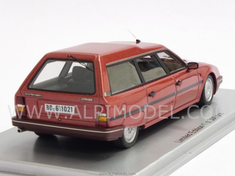 Kess Citroen Cx 25 Trd Turbo Ii Break 1986 Red Metallic