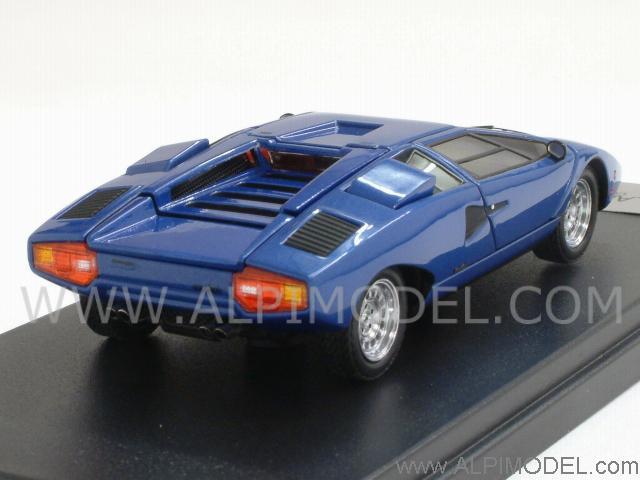 Kyosho Lamborghini Countach Lp400 Blue Metallic With