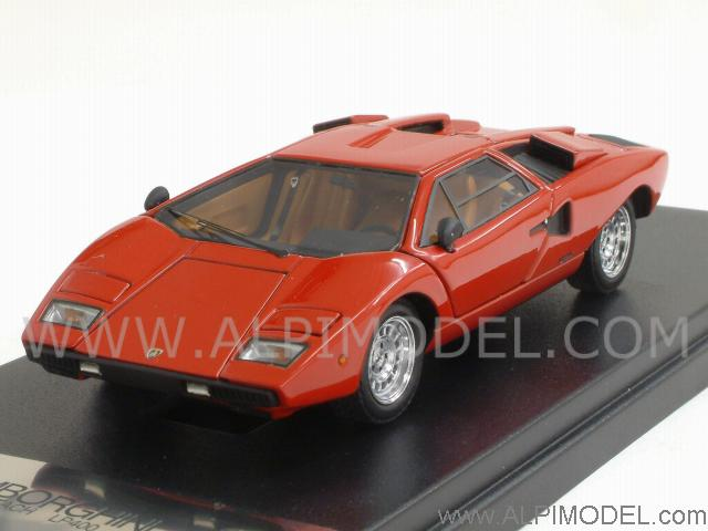 kyosho lamborghini countach lp400 red with opening parts. Black Bedroom Furniture Sets. Home Design Ideas