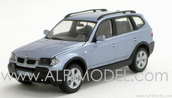 Kyosho Bmw X3 3 0d Light Blue Metallic Bmw Promotional