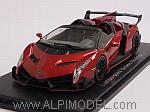 Lamborghini Veneno Roadster 2014 (Red Metallic) by KYOSHO