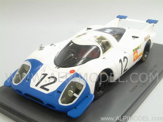 le mans miniatures porsche 917 lh 12 le mans 1969 elford attwood 1 24 scale model. Black Bedroom Furniture Sets. Home Design Ideas