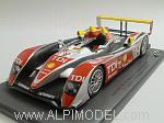 Audi R10 TDI #2 Winner Le Mans 2008 Capello - Kristensen - McNish by LE MANS MINIATURES