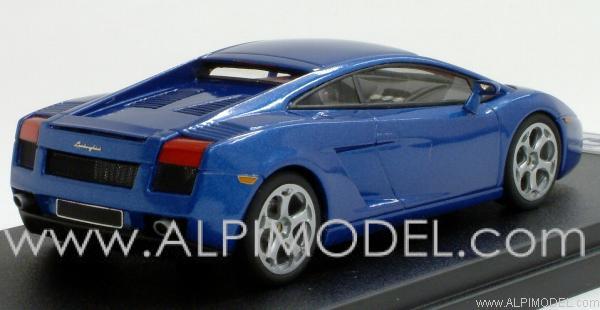 Lamborghini Gallardo Blue Metallic