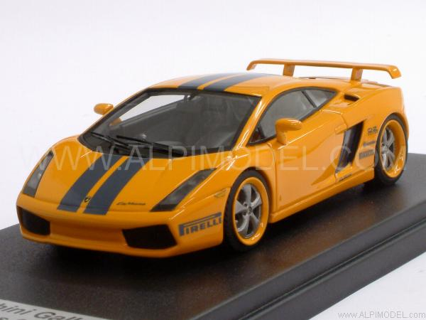 looksmart ls158 lamborghini gallardo le mans 2005 orange 1 43. Black Bedroom Furniture Sets. Home Design Ideas
