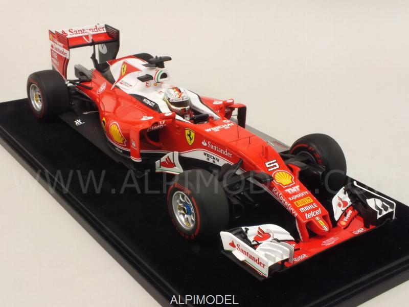 Ferrrari SF16-H GP Australia 2016 Sebastian Vettel  (with display case) by LSM