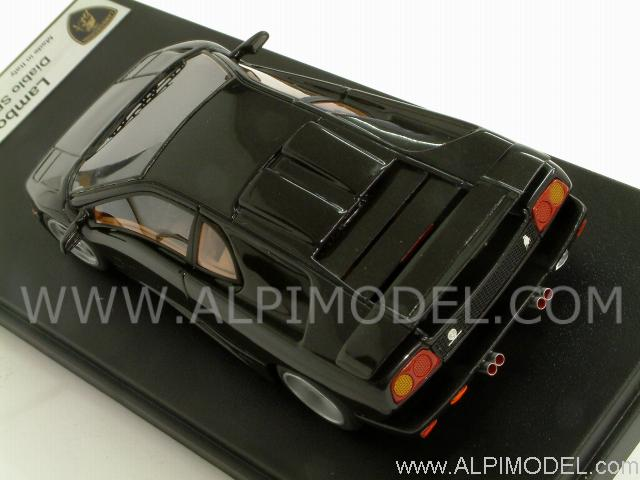 Looksmart Lamborghini Diablo Se30 Jota 1994 Metallic Black 1 43 Scale Model