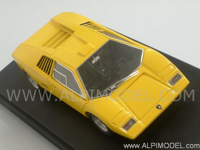 Looksmart Ls326 Lamborghini Countach Lp500 Prototipo 1971 Yellow 1 43
