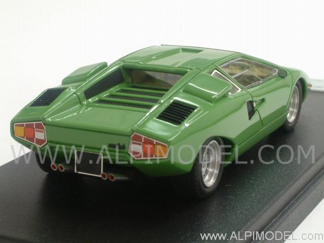 Looksmart Lamborghini Countach Lp400 1st Version Green