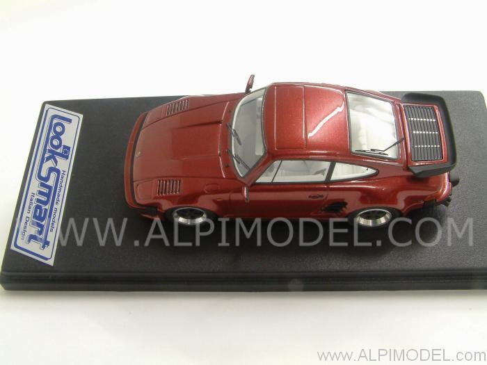 Dark Red On a Porsche 911
