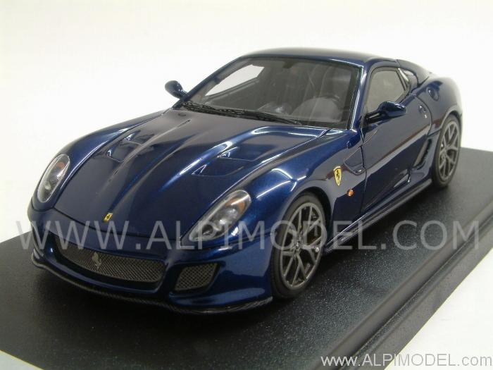 Looksmart Ferrari 599 Gto 2010 Blue Tour De France 1 43