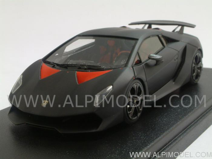 Matte Black Lamborghini Sesto Elemento
