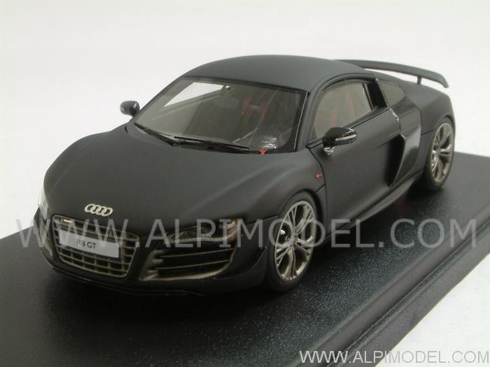 Matte Black Audi R8 GT