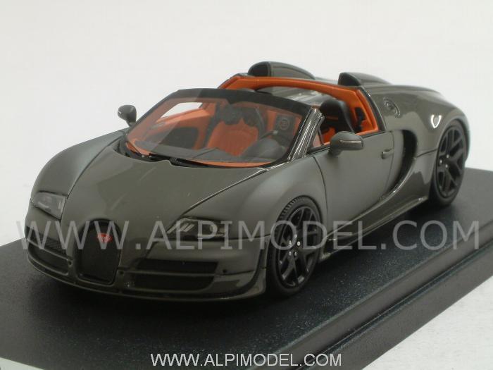 looksmart bugatti veyron 16 4 vitesse grand sport geneve motorshow 2012 jey grey jet grey matt. Black Bedroom Furniture Sets. Home Design Ideas